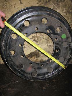 Колесный диск для автокрана